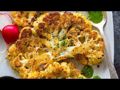 Roasted Cauliflower Steaks