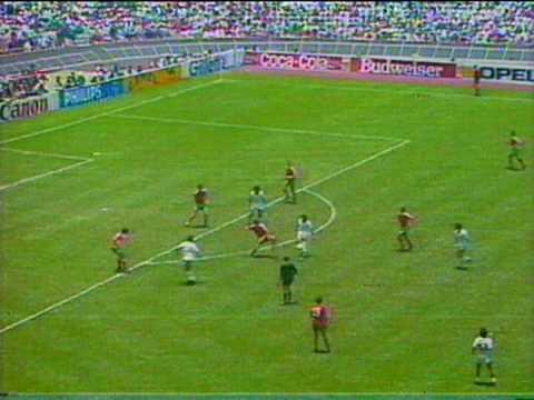 Mexico VS Bulgaria Gol de tijera de Manuel Negrete Mexico 86