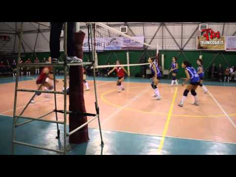 Volley femminile, NAF Nicosia-Life Electronic Giarre 0-3