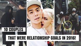 10 Kpop & Korean Celebrity Couples That Were Relationship Goals in 2016