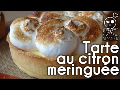 recette tarte au citron meringu e recette p te sabl e. Black Bedroom Furniture Sets. Home Design Ideas