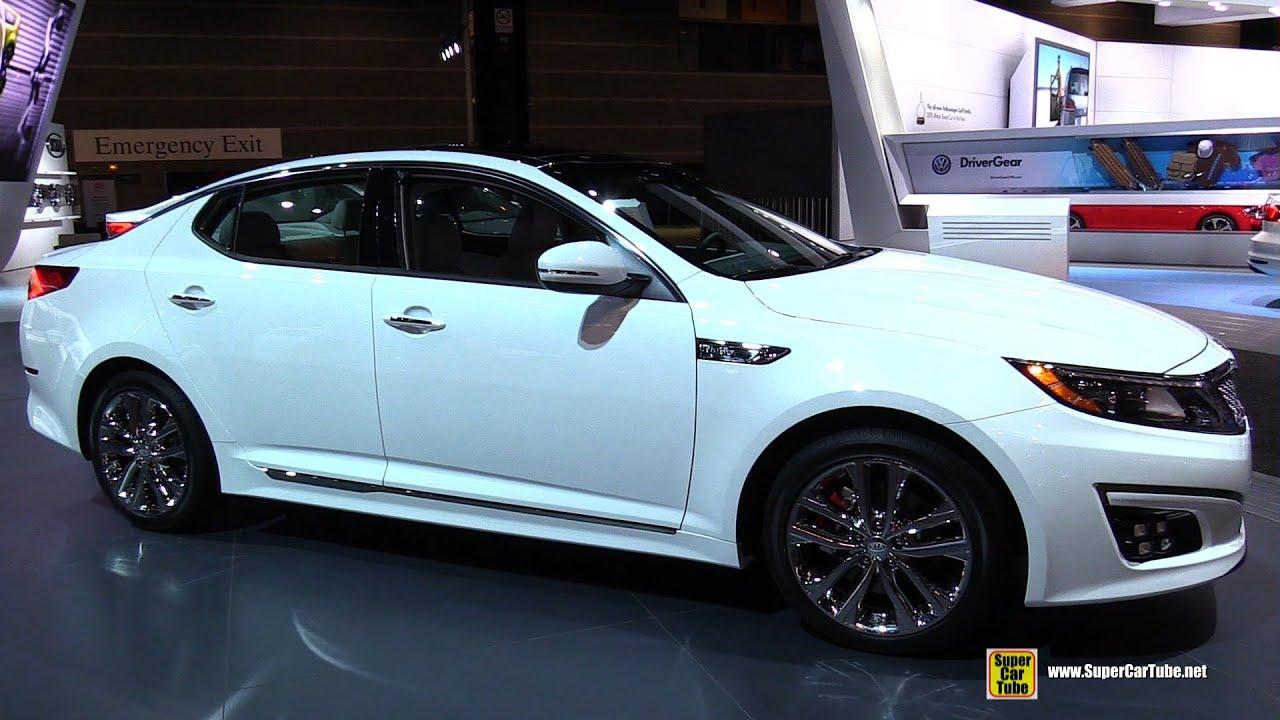 2015 KIA Optima SXL   Exterior And Interior Walkaround   2015 Chicago Auto  Show