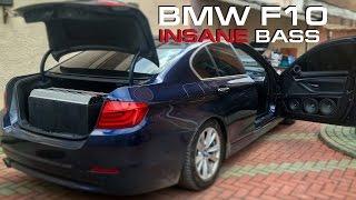 ЖЕСТЬ! BMW 5 рвет на части! BMW F10 INSANE BASS!