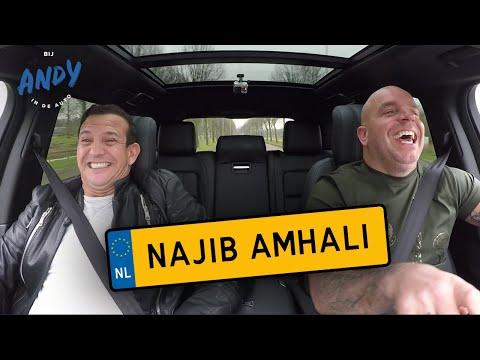 Najib Amhali - Bij Andy in de auto!