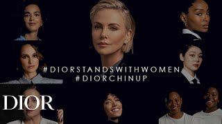 #DIORSTANDSWITHWOMEN #DIORCHINUP - A new series of portraits from passionate women