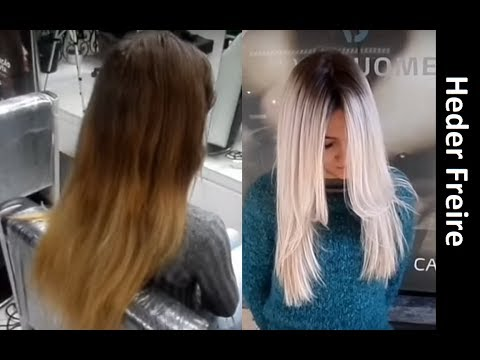 Ombre Hair - Técnica para Correção - loiro1011 - Heder Freire