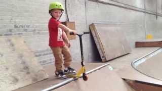 Kewben - 4 Year Old Scooter Kid