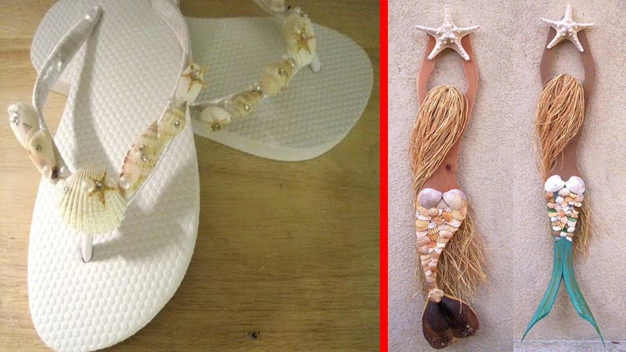 40 unique sea glass seashell craft ideas beach style decor
