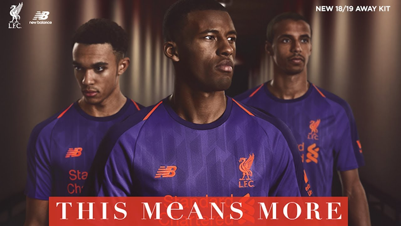 35cac60f3 Revealed  LFC launches new away kit for 2018-19 season - YouTube