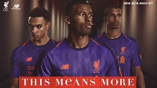 Revealed: LFC launches new away kit for 2018-19 season