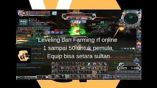 Leveling dan farming rf online untuk pemula dari level 1 sampai 50 tanpa modal