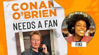 "Conan's Fan Thinks His Podcast Merch Is Cursed - ""Conan O'Brien Needs A Fan"""