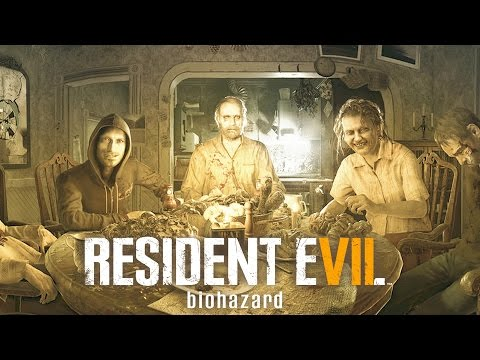 Resident Evil 7 All Baker Family Cutscenes and Boss Fights