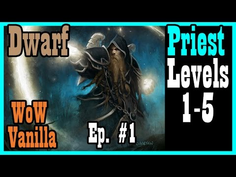 Soupa, the Dwarf Priest: A New Hope Ep #1 [Vanilla / Classic World of Warcraft Let's Play]