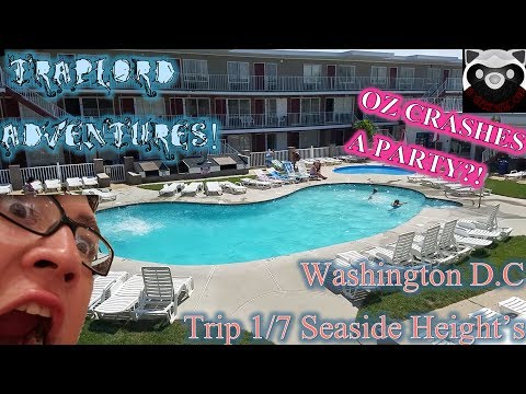 Oz goes to D.c vlog Part 1 - I CRASHED A PARTY?! | Traplord Adventures Ep 6