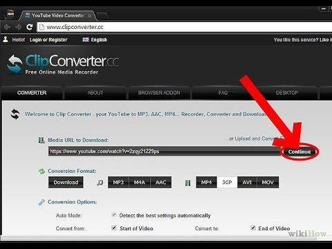 cara mendownload vidio dari youtube menggunakan clip converter