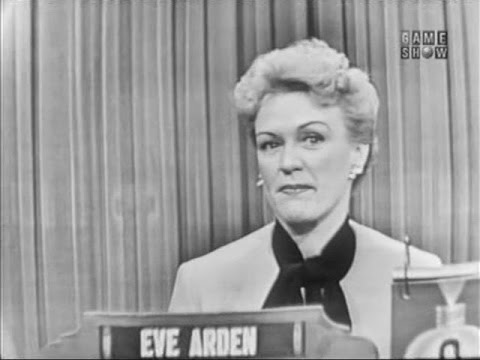 What's My Line?  Eve Arden; Sam Levenson panel; Betty Furness panel Jan 2, 1955
