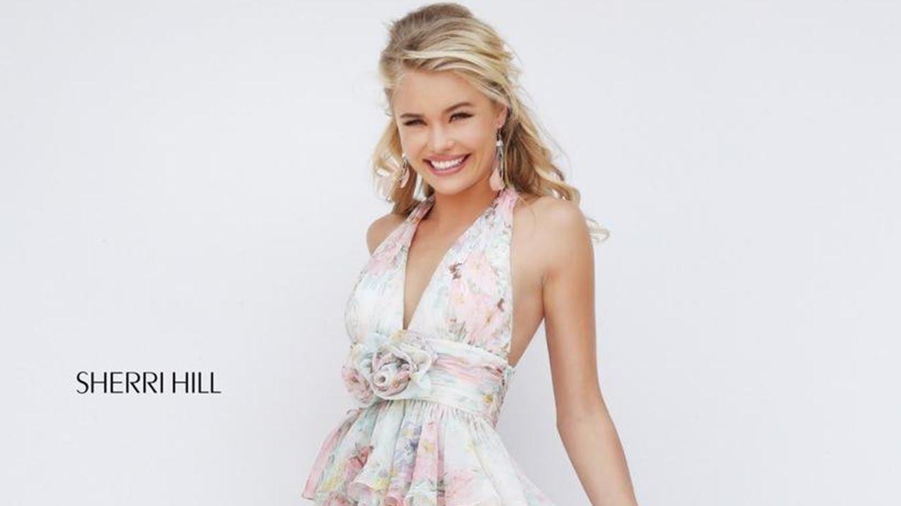 4d2328e759 Sherri Hill 50274 Short Prom Dress - YouTube