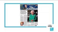 Covid-19: British PM Boris Johnson hospitalised amid reactions to queen's speech