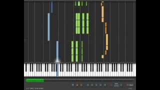 Notre Dame de Paris - Belle(Acompañamiento mano izquierda: Azul Acompañamiento mano derecha: verde Voz: Naranja (las notas correspondientes a la voz están subidas una octava ..., 2012-10-03T19:02:03.000Z)