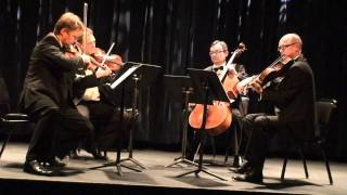 Art Strings Quartet of Manhattan, NY plays Shostakovich Quartet #4 at Symphony Space in New York, NY Thumbnail