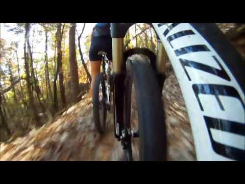 Mountain Biking Bull Mountain, Dahlonega, Ga