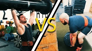 Strongman Competition - Lightweight vs. Heavyweight