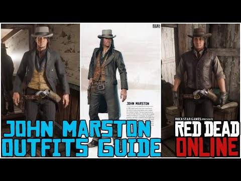 John Marston Rdr 2 Rdr 1 Outfit Guide For Red Dead Online