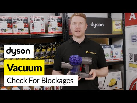 How To Check For Blockages In A Dyson Handheld Stick Vacuum Youtube