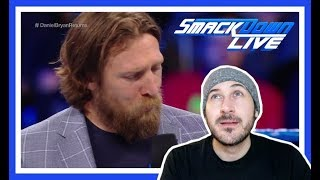 Reaction | DANIEL BRYAN Speaks About Being Medically Cleared By WWE | Smackdown Live March 20, 2018