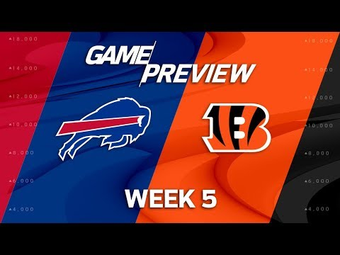 Buffalo Bills vs. Cincinnati Bengals | Week 5 Game Preview | NFL Playbook