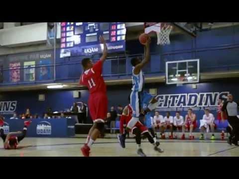 UQAM Citadins Basketball masculin saison 2014-2015 (version longue)