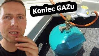 Skończył się Nam GAZ w Przyczepie Kempingowej (Vlog #146)