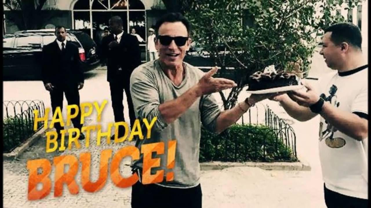 Happy 67th Birthday Bruce