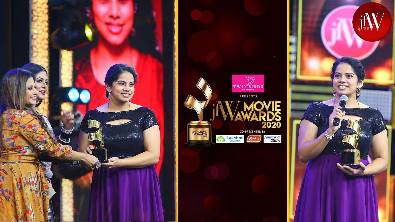 Best Dubbing Artist | Most Difficult Dubbing Of My Life |  Deepa Venkat | JFW MOVIE AWARDS 2020