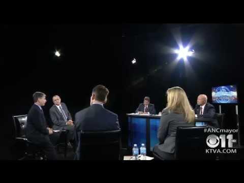2015 Anchorage Mayoral Debate on KTVA