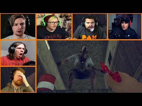 Let's Players Reaction To Weird Jumpscare...