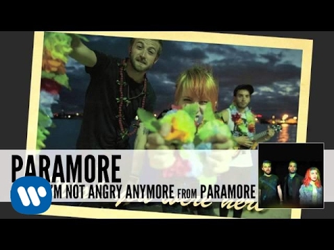 Paramore: interlude: I'm Not Angry Anymore (Audio)