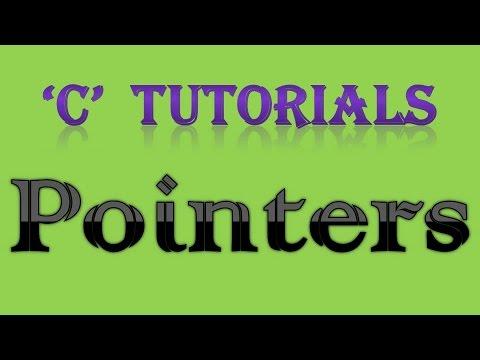 c-programming-tutorial-36-pointers