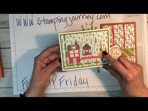 Follow Up Friday's cards made with scraps!