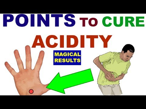Sujok Therapy For Acidity||Gastritis||Acupressure Points ...