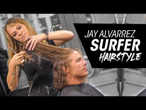 Jay Alvarrez Surfer Hairstyle Tutorial - Wavy Hair for Summer