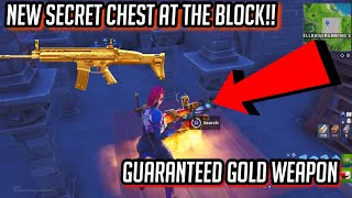 *NEW* SECRET CHEST in Fortnite!! | Guaranteed LEGENDARY WEAPON!!