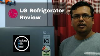 LG refrigerator (MODEL NO. GL‑Q292SGR/2016) Review | Cooking with amol