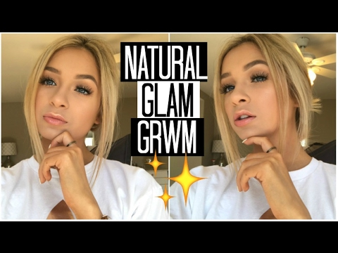 Natural Glam Makeup Look | Chatty Get Ready with Me