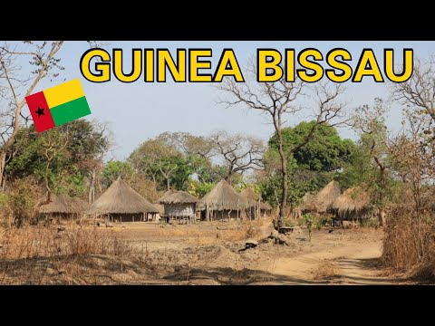 What Does Guinea Bissau Countryside Look Like?Senegal to Bissau Roadtrip🇸🇳 #GuineaBissau Africa Ep.3