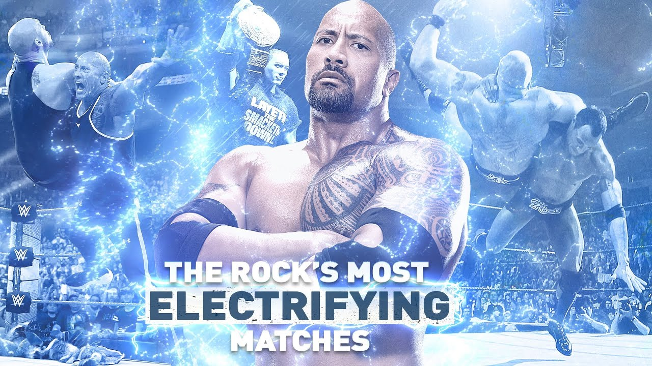 Most Electrifying Matches of The Rock: Best of WWE