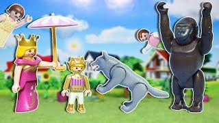 الذئب بيطارد الامير الصغير - عائلة ساندي - قصص اطفال