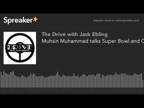 Muhsin Muhammad talks Super Bowl and Calvin Johnson - February 1, 2016