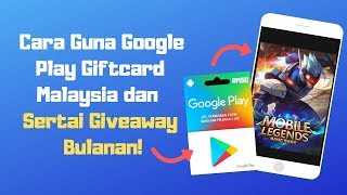 Baixar Cara Guna Google Play Giftcard Malaysia | Giveaway Free Google Play GiftCard